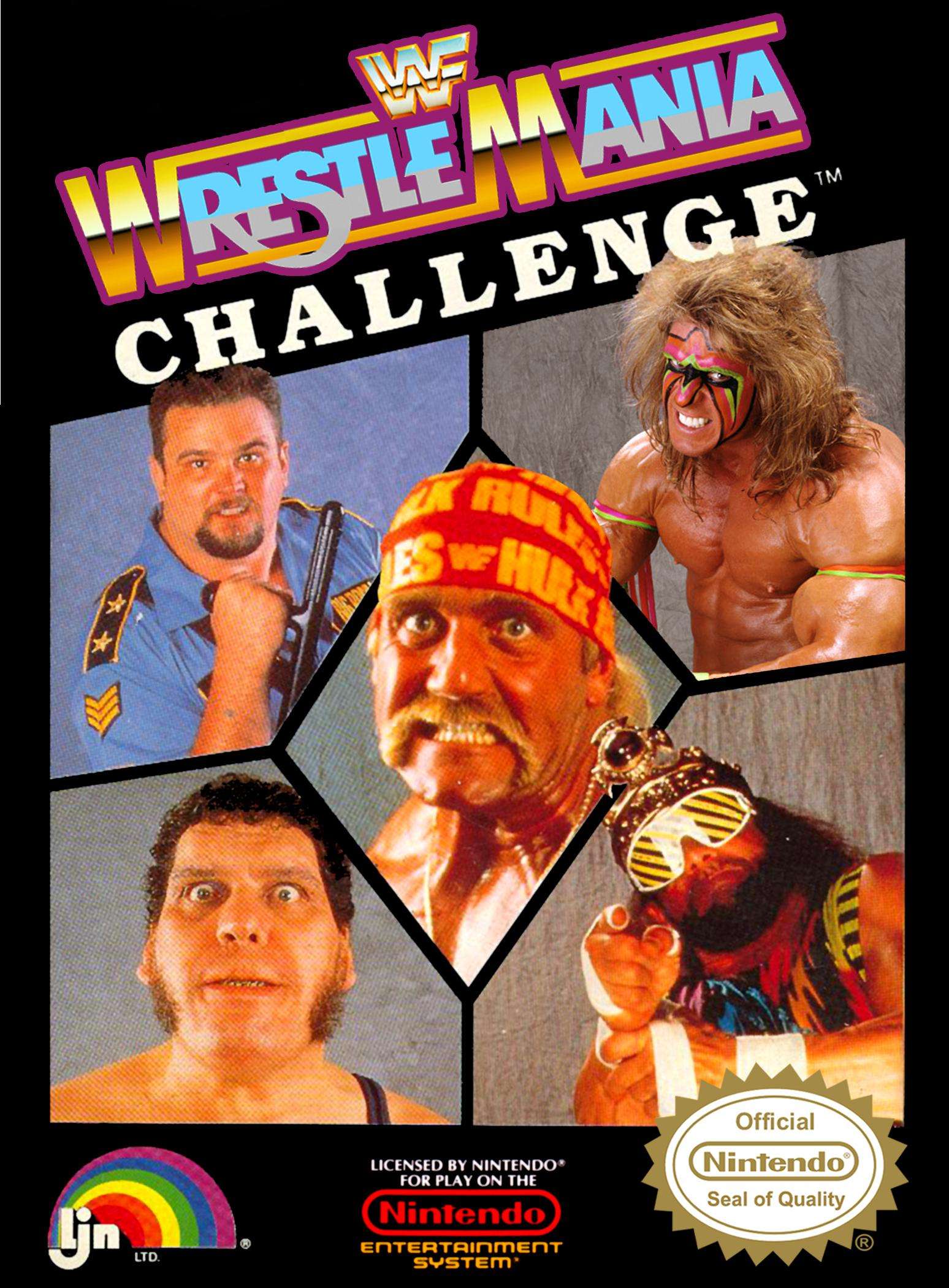 Take On The Nes Library 123 Wwf Wrestlemania Challenge