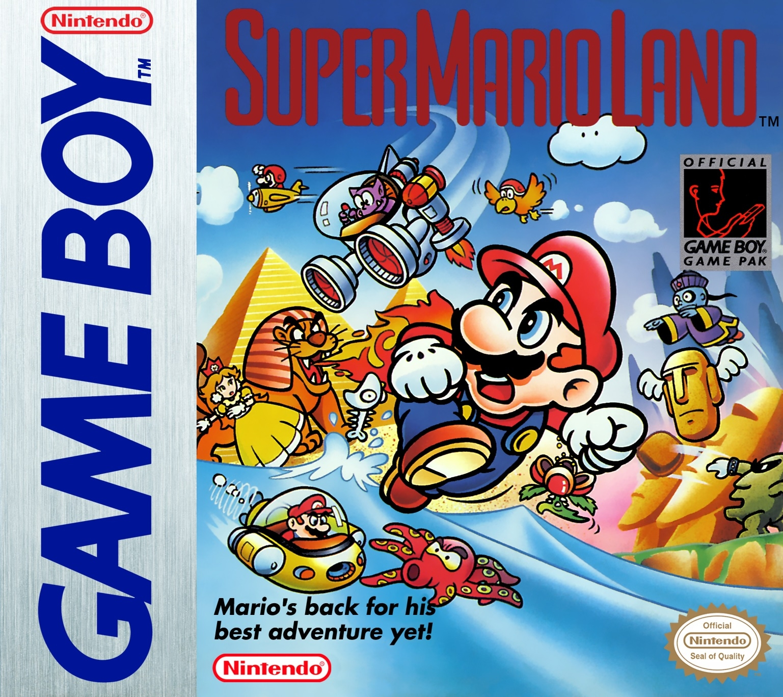 Take on the NES Library » Game Boy #1 - Super Mario Land