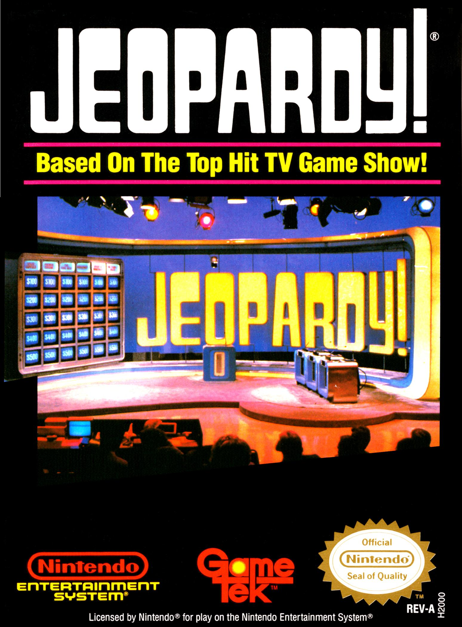 Take on the NES Library » #64 – Jeopardy!