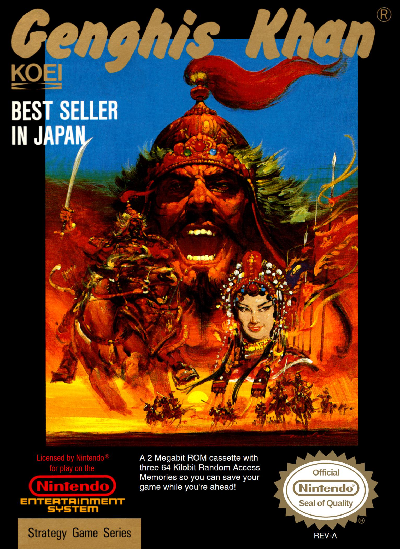 Take on the NES Library » #134 – Genghis Khan